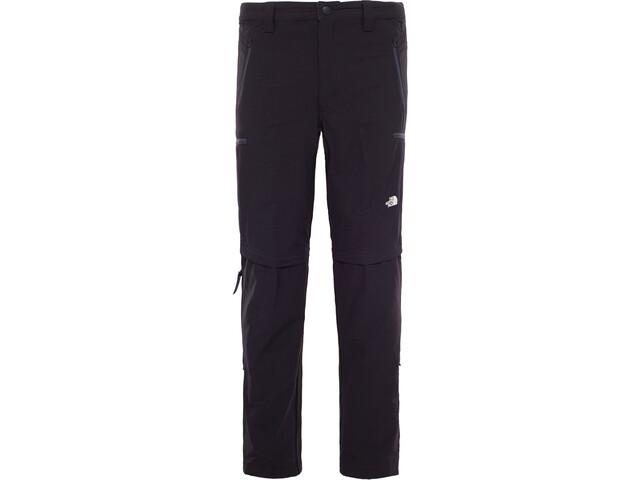 The North Face Exploration Convertible Pants short Men tnf black